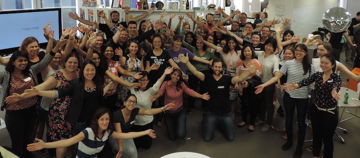 Rails Girls Friday Hug
